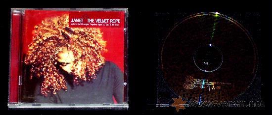 Janet jackson - the velvet rope - cd musica - Sold through Direct