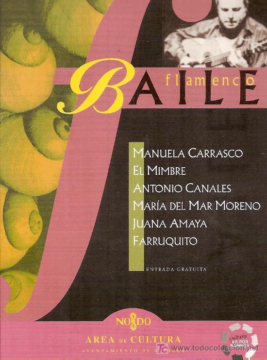 POSTAL DE FESTIVAL DE BAILE FLAMENCO EN SEVILLA. (Música - Varios)