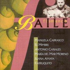 Música de colección: POSTAL DE FESTIVAL DE BAILE FLAMENCO EN SEVILLA.. Lote 16988280