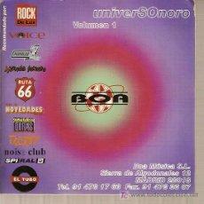 Música de colección: LIBRITO INTERIOR DE LA CAJA DE CD DEL DISCO 'UNIVERSONORO VOLUMEN 1'.. Lote 5382148