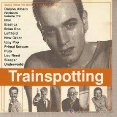Música de colección: LIBRITO INTERIOR DE LA CAJA DE CD DEL DISCO 'TRAINSPOTING'.. Lote 5382149