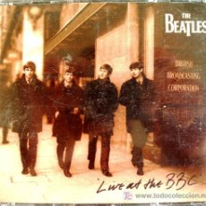 Música de colección: CD , LIVE AT THE BBC OF THE BEATLES. Lote 231064895
