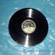 Música de colección: DISCO ORIGINAL EDISON, DE MAS DE MEDIO CENTIMETRO DE GROSOR. Lote 27010763