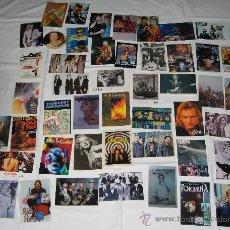 Música de colección: 18 POSTALES + 28 FOTOS + 1 PEGATINA = 47 CINE Y ROCK. Lote 8468011