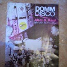 Música de coleção: FLYER DE DISCOTECA 'DOMM DISCO', SEVILLA.. Lote 8652475