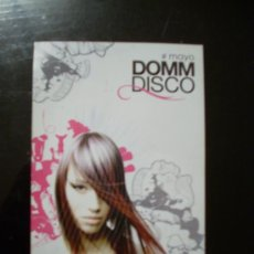Música de coleção: FLYER DE LA DISCOTECA 'DOMM DISCO', SEVILLA.. Lote 9470217