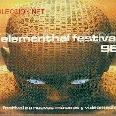 Música de colección: FLYER DE FIESTA 'TECHNO' EN ADEJE, TENERIFE. 1998.. Lote 2111722