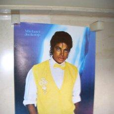 Música de colección: MICHAEL JACKSON POSTER 0,77 X 0,53CM NUEVO. Lote 26677203