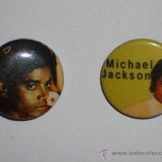 Música de colección: MICHAEL JACKSON 2 CHAPAS. Lote 27117203