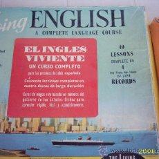 Música de colección: ANTIGUO CURSO DE INGLES AÑOS 1970. Lote 21556389