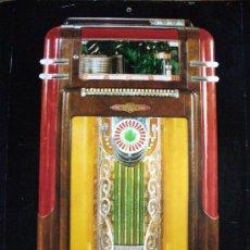 Música de colección: LAMINA-FOTO DE JUKEBOX ROCKOLA. Lote 26530665