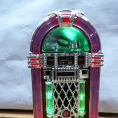 Música de colección: RADIO MODELO JUKEBOX CON LUZ. Lote 109013459