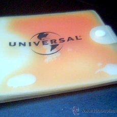 Música de colección: UNIVERSAL. ESTUCHE PORTA COMPACTOS DE PUBLICIDAD DEL SELLO DISCOGRAFICO UNIVERSAL.. Lote 18470801