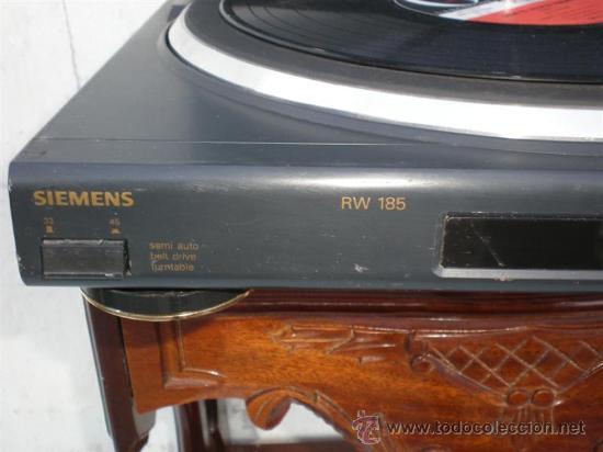 Música de colección: tocadisco Siemen - Foto 2 - 254205100