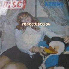 Música de colección: KARINA REVISTA DISCOBOLO MARZO DE 1969 THE BEATLE. Lote 26769060