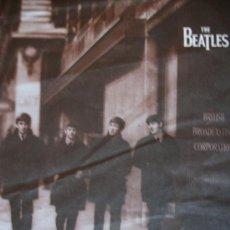 Música de colección: BEATLES FLYER PROMOCIONAL EN ESPAÑOL LIVE AT THE BBC . Lote 26724705