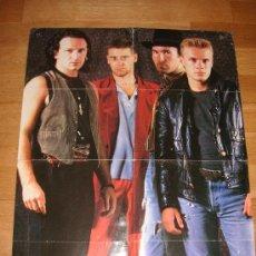 Música de colección: POSTER DE U2 (REVISTA SOUND). Lote 27038504