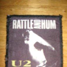 Música de colección: U2 PARCHE TELA ( RATTLE AND HUM). Lote 26360122