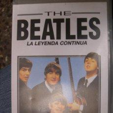 Música de colección: THE BEATLES - LA LEYENDA CONTINUA - VHS. Lote 25966229