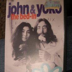 Música de colección: JOHN & YOKO - THE BED-IN - PELICULA DOCUMENTAL VHS HISTORICO DE LA PAREJA EN 1969 . Lote 25966269