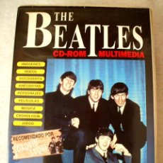 Música de colección: THE BEATLES - CD ROM MULTIMEDIA - EDITORIAL TREBOL 1995 - EN , NUNCA USADO. Lote 26298067