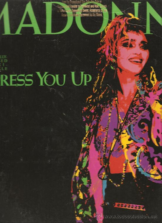 MAXI MADONNA : DRESS YOU UP - USA PROMO (Música - Varios)