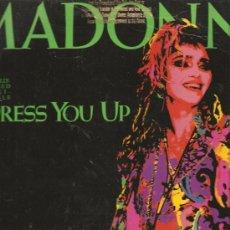 Música de colección: MAXI MADONNA : DRESS YOU UP - USA PROMO. Lote 27668659