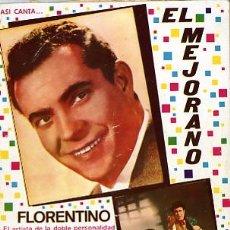 Música de colección: CANCIONERO DE EL MEJORANO Y FLORENTINO. COPLA. Lote 27870856
