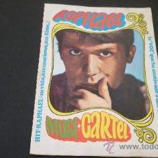 Música de colección: RAPHAEL. POSTER-DESPLEGABLE. MUSI-CARTEL.SU VIDA, SUS CANCIONES, SUS FILMS....! ED. ESTE 1968. Lote 27893430