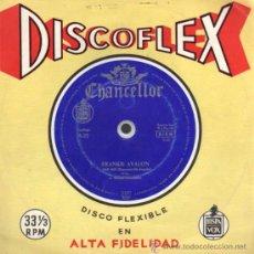 Música de colección: DISCOFLEX - FRANKIE AVALON - PORQUÉ - VENUS. Lote 28106847