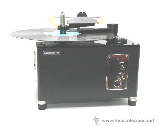 Música de colección: MAQUINA LIMPIA VINILOS AUTOMATICA RECORD CLEANING MACHINE CLEANERECORD COMPACT - Foto 2 - 60954865