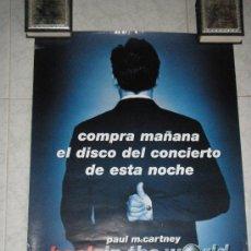 Música de colección: PAUL MCCARTNEY - BACK IN THE WORLD - . Lote 28399503