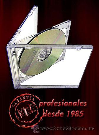 10 CAJAS / ESTUCHES COMPLETOS PARA DOBLE CD segunda mano