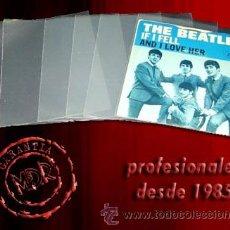 Musique de collection: 500 FUNDAS BLANDAS PARA DISCOS DE VINILO SINGLE 7 Y EP -PROTEGEN TUS SINGLES-. Lote 273914743