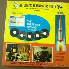 Música de colección: AUTOMATIC LEARNING INSTITUTE. Lote 30582786