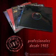 Musique de collection: LOTE 100 FUNDAS LP Y MAXI-SINGLE CON AUTOCIERRE ADHESIVO REMOVIBLE. Lote 218455758