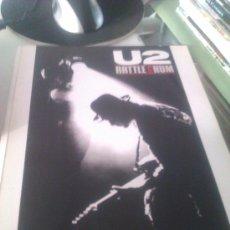 Música de colección: U2 RATTLE&HUM EL LIBRO ORIGINAL DE LA PELICULA DE U2. Lote 32510909
