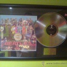 Música de colección: THE BEATLES - SGT PEPPERS LONELY HEARTS (CUADRO DISCO PLATINO). Lote 33944634