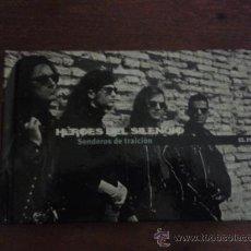 Música de colección: LIBRO- CD HÉROES DEL SILENCIO . Lote 33964843