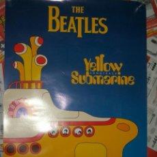 Música de colección: CARTEL POSTER PROMOCIONAL THE BEATLES YELLOW SUBMARINE TAMAÑO 76 X 51. Lote 36477602