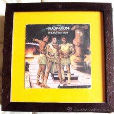 Música de colección: CUADRO SINGLE FORMATO 30CM X 30 CM . Lote 36568159