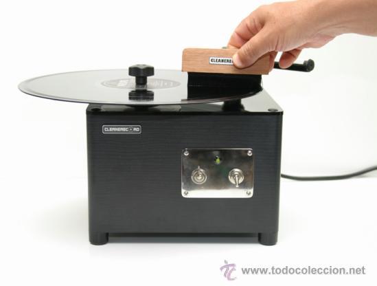 Música de colección: cepillo para maquinas limpia discos de vinilo CLEANERECORD - brush for machines clean vinyl - Foto 2 - 177254327