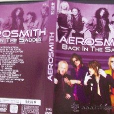 Música de colección: DVD DE AEROSMITH BACK IN THE SADDLE. Lote 36943681