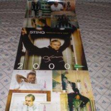 Música de colección: STING-CALENDARIO 2000. Lote 37042150
