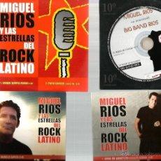 Música de colección: 4 CD SINGLES : MIGUEL RIOS . Lote 39650292