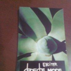Música de colección: STICKER PEGATINA GRUPO MUSICAL DEPECHE MODE ALBUM EXCITER AÑO 2001 12,5 CM X 7,5 CM APROX. ADHESIVO. Lote 39660850