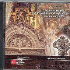Música de colección: LA ACTIVIDAD ARTÍSTICA EN LA RIOJA DURANTE EL SIGLO XVI : ÍNDICE DE ARTISTAS Y ARTESANOS. Lote 39700984