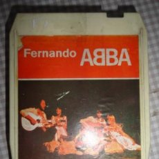 Música de colección: ABBA FERNANDO CARTUCHO DE 8 PISTAS. Lote 213022745
