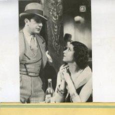 Música de colección: CARLOS GARDEL. LOTE DOS POSTALES. CON HELENA D'ALGY Y DIBUJO DE GUSTAVO OLIVÉ. Lote 40556550