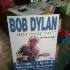 Música de colección: BOB DYLAN CARTEL CONCIERTO SAN SEBASTIÁN 1999. Lote 40891505
